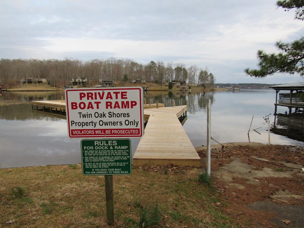 Subdivision Boat Ramp and Pier