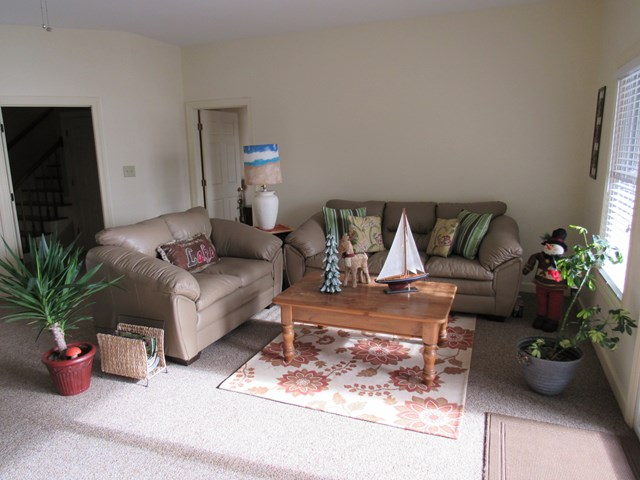 Lower Level Living Area - view 2